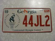 1995 Georgia License Plate Free Shipping See My Other Plates