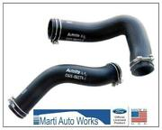 1969 Mustang 302 351w Radiator Hose Set Upper And Lower W/ Clamps Oem Concours