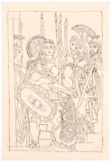 Original Picasso Etching Aristophanes Lysistrata 1934 Limited Editions Club