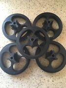 2 For 25 Cents Gumball Machine Wheels For Oak, Aanda And Eagle. Lot Of 5 Wheels