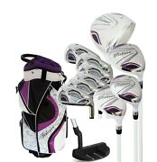 Founders Club Believe Ladies Womens Complete Golf Club Set With Bag, Head Covers