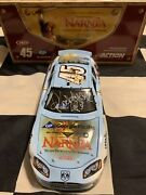 2005 Kyle Petty Richard Petty And Dale Inman Triple Autographed 45 Narnia 1/24