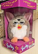 Nib Original Furby Church - Mouse Series 1 Awesome 1998 Never Removed From Box