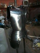 Medieval Templar Knight Armor Chest And Back Jacket Reenactment And Reproduction 18g