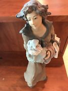 Lladro 1767 Motherly Love Goyescas Gres Very Rare 22 Inches Sold Out L.e