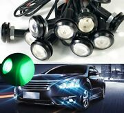 10x 9w Puddle Lights Lamps Drl Green Led Fog Running Ground Eagle Eyes 6