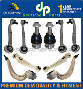 Porsche Macan Front Upper Lower Control Arms Ball Joints Suspension Kit 10