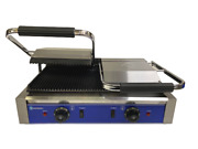 Quantum Ce Andreg Clamp Grill Double Sided Panini Press Twin Contact Catering Tcgr