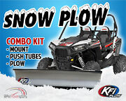 Kfi 60 Snow Plow Steel Blade And Mount Kit Hisun Massimo Coleman 500 700 Utvs