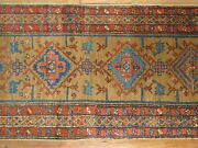 Antique Heriz Rug 2and0397and039and039x10and0399and039and039