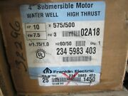 Franklin Electric 234-5983-403 4 Submersible Motor Water Well High Thrust