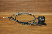 Arctic Cat Atv 2009 366, 4x4 Handle Bar Throttle With Cable 4x4 Switch