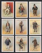 Cigarette/trade/cards.cope Bros.tobacco.dickens Characters.l.1939set Of 25