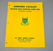 1966 Usma Military Academy West Point Armored Cavalry Field Exercise Fort Knox