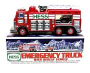 Hess Emergency Truck With Rescue Vehicle 2005