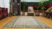 Primitive Antique 1940-1950and039s Muted Dye 5and0396and039and039andtimes8and0396 Wool Pile Isparta Rug