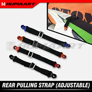 Rear Lift Strap Motorcycle Rescue Belt For Yamaha Suzuki Dirtbike Multi-colors