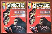 Monsters Of The Movies 1 2 3 4 5 6 7 8 Ann. 1 -complete High Grade Set
