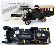 Dept. 56 Bachmanandrsquos 1919 Wilcox Truck Signed By 5 Bachmanandrsquos Family Members 08803