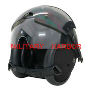 Hgu-84p Helicopter Pilot Helmet W/ Lens Airsoft Abs Replica Black Free Shipping
