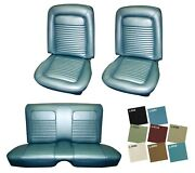 1968 Cougar Front And Rear Standard Upholstery Set In Your Choice Of Colors
