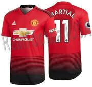 Adidas A. Martial Manchester United Authentic Match Home Jersey 2018/19 Kohler