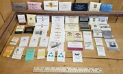 Vintage Hotel/motel Advertising Matchbook Style Sewing/mending Kits Lot Of 50