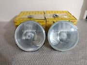 Bmw E21 Bosch Headlight Left And Right Side New For Single Comp.or Hella Grille