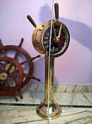 Big Shipand039s Telegraph Brass Engine Order Antique Maritime Collectible Decorative