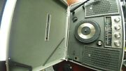 Vintage Rare National Sg-725 Portable With Record Player And Radio