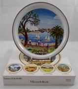 Villeroy And And Boch Scenes Of Australia No1 Sydney Harbour Plate N Wildman Boxed