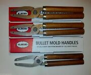 Lee Mold 6 Cavity Mold Handles 3 Pack New In Package 90005 3 Pack