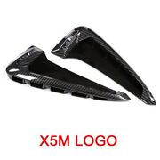 Abs Fender Side Air Vent X5m Carbon Fiber Style For Bmw X5 F15 X5m F85