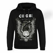 Officially Licensed Cbgb Amplifier Epic Hoodie S-xxl Sizes