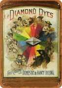 Metal Sign - Diamond Dyes - Vintage Look Reproduction