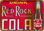 Metal Sign - Red Rock Cola - Vintage Look Reproduction