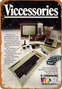 Metal Sign - 1983 Commodore Vic-20 Computer Accessories - Vintage Look