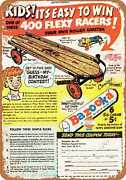 Metal Sign - Flexy Racer - Vintage Look Reproduction