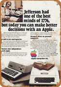 Metal Sign - 1982 Apple Computer - Vintage Look Reproduction