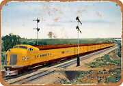 Metal Sign - 1940 Union Pacific City Of Denver - Vintage Look Reproduction