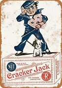 Metal Sign - 1918 Cracker Jack Candy - Vintage Look Reproduction 2