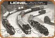 Metal Sign - 1971 Lionel Electric Trains - Vintage Look Reproduction