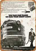 Metal Sign - 1972 Amtrak Trains - Vintage Look Reproduction