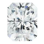 Certified Radiant Forever One Charles And Colvard Loose Moissanite Stone - 5.30 Ca