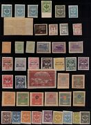 Impressive Russia Imperforates 47 Stamps - Mlh Rare Offers