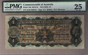 Commonwealth Of Australia Pick 16d R27-1 Pound Riddle Sheehan Pmg 25. Vf