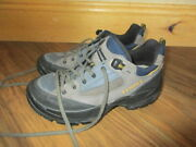 Lowa Renegade Lo Low Blue Gray Leather Gtx Athletic Hiking Shoes Ladies Sz 5