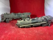 Lot Of 2 Lionel 1110 And 1666 Steam Locomotive Engine Shell