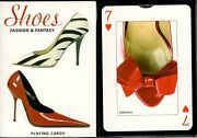 Shoes Playing Cards Poker Size Deck Piatnik Custom Limited Edition New