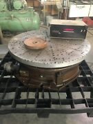Troyke R-25 Rotary Table With Trak Dro